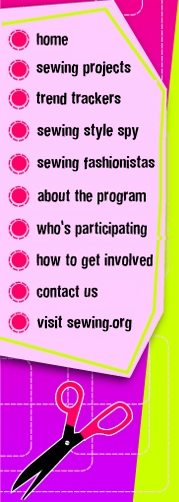 Teen sewing